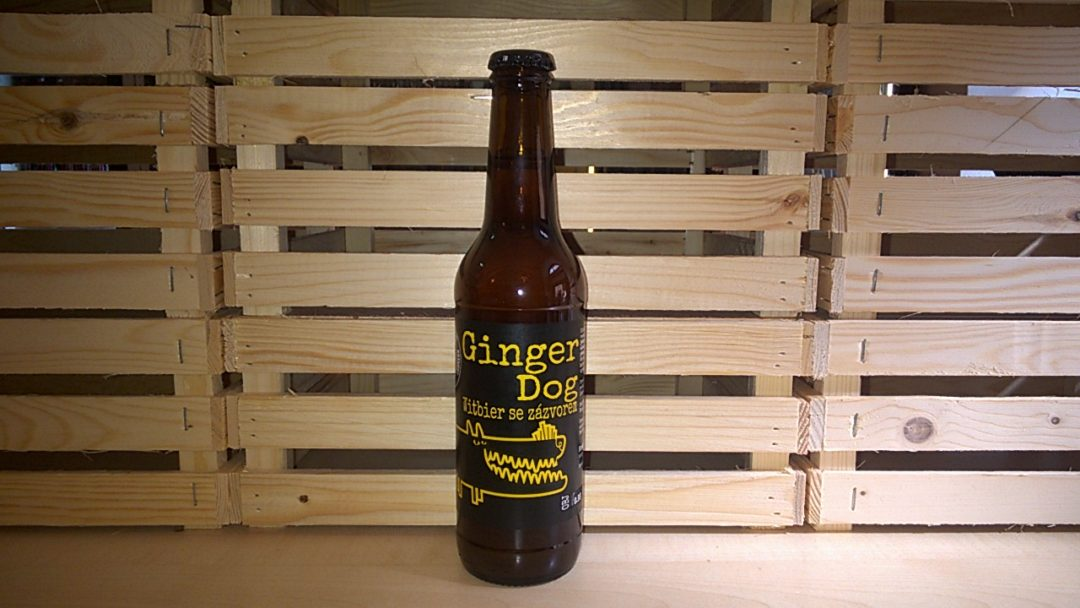Hoppy Dog Ginger Dog Witbier se zázvorem
